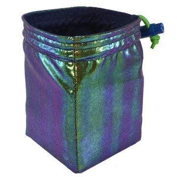 Dice Bag: Scarab Holographic Red King Company Clothing/Accessories