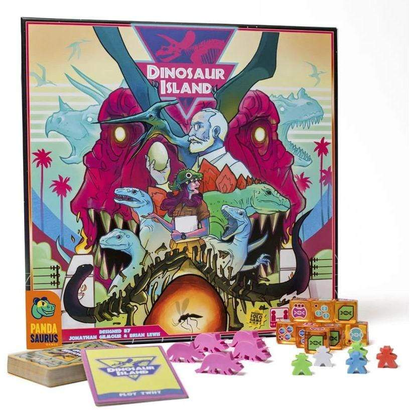 Dinosaur Island Alliance Games Board Games