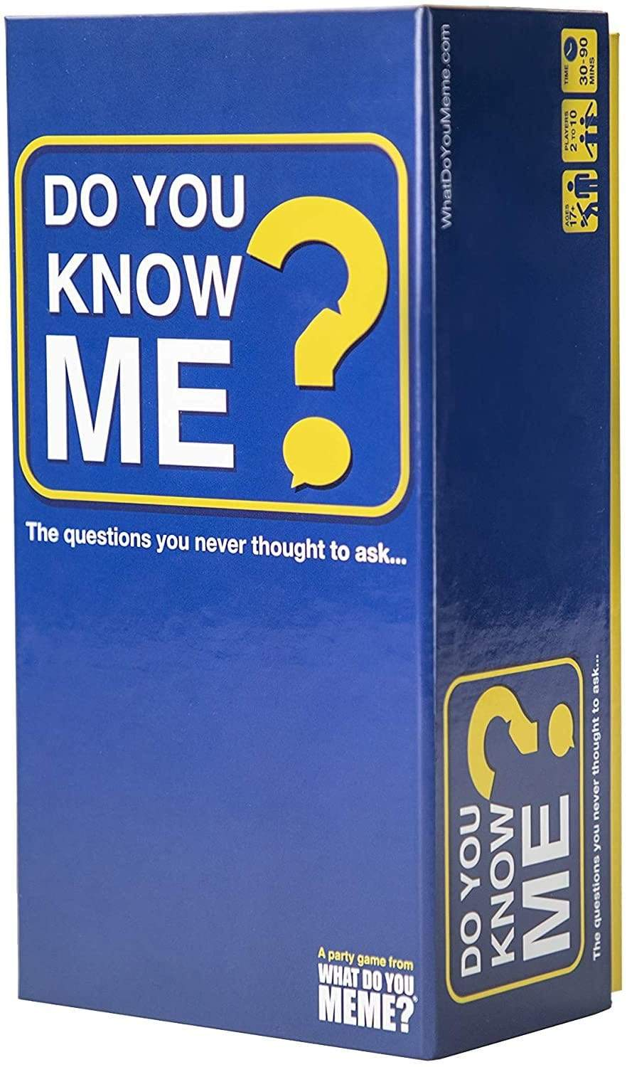 Do You Know Me? What Do You Meme Board Games