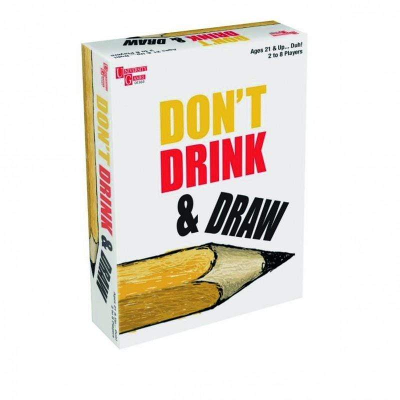 Don't Drink & Draw University Games Board Games