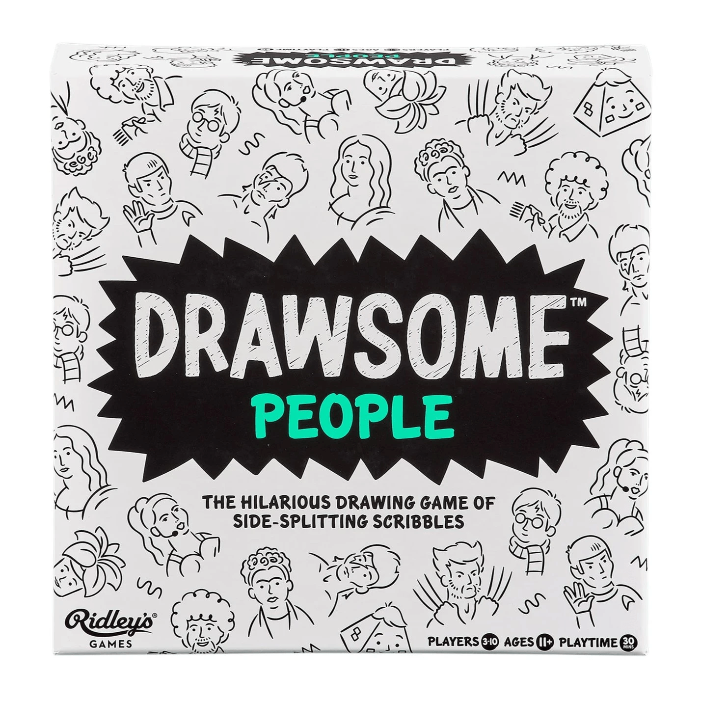 Drawsome People Wild & Wolf Inc. Board Games