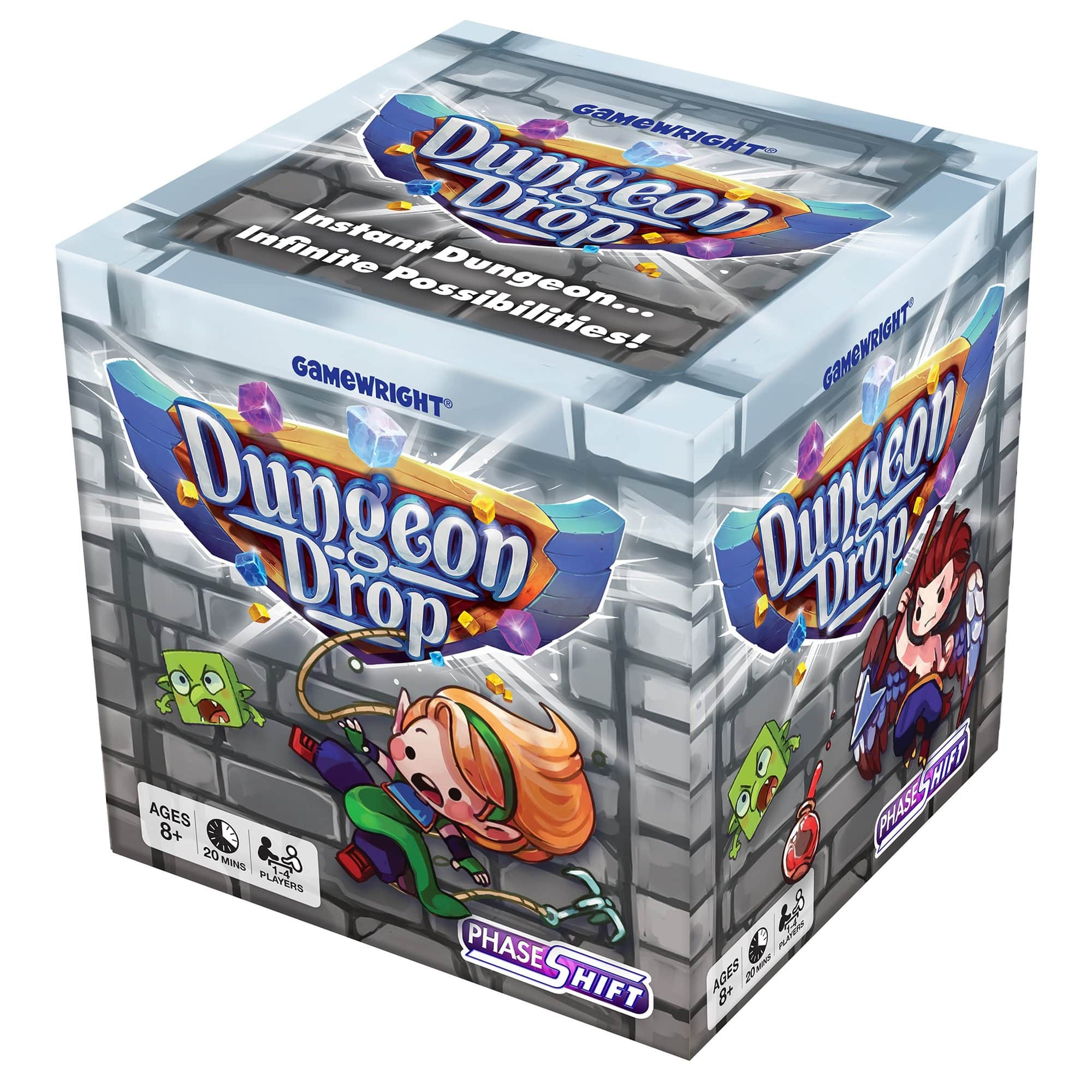 Dungeon Drop Gamewright Board Games