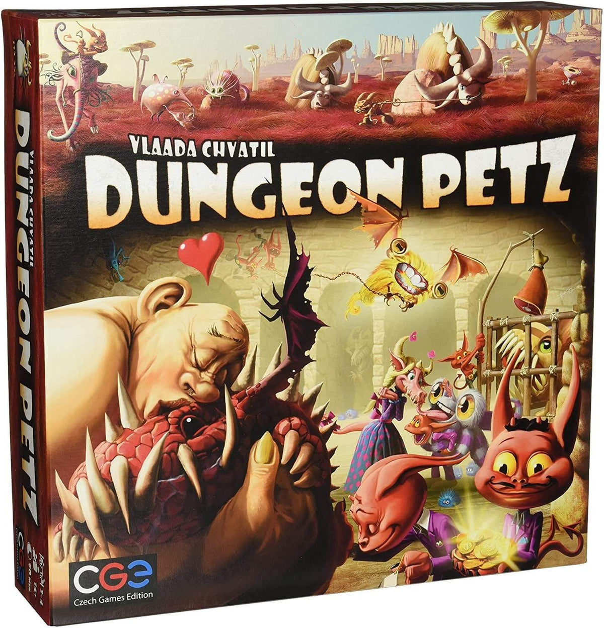 Dungeon Petz Alliance Games Board Games