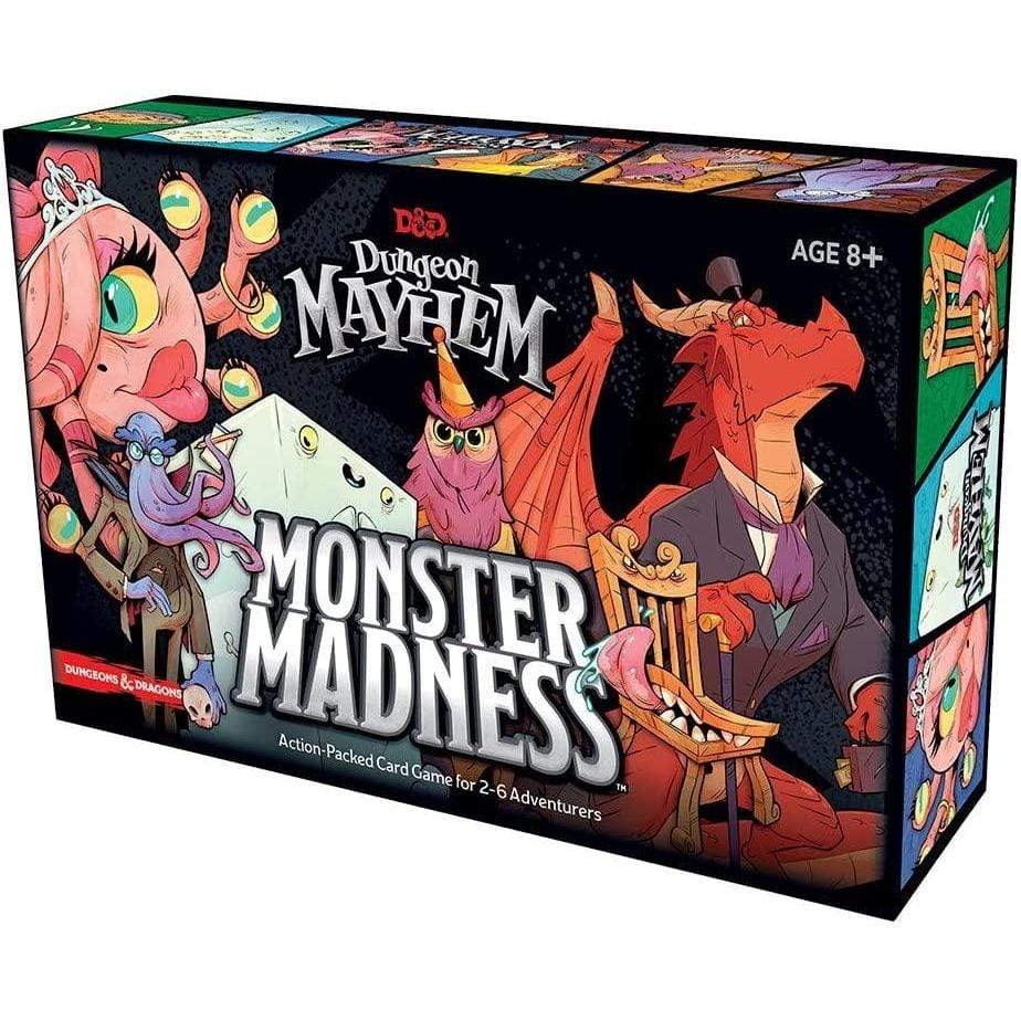 Dungeons and Dragons: Dungeon Mayhem - Monster Madness Wizards of the Coast Board Games