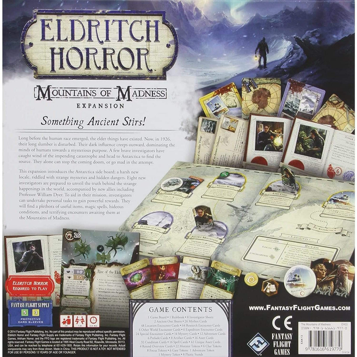 Eldritch Horror: Mountains Of Madness Expansion ACD Distribution Board Games