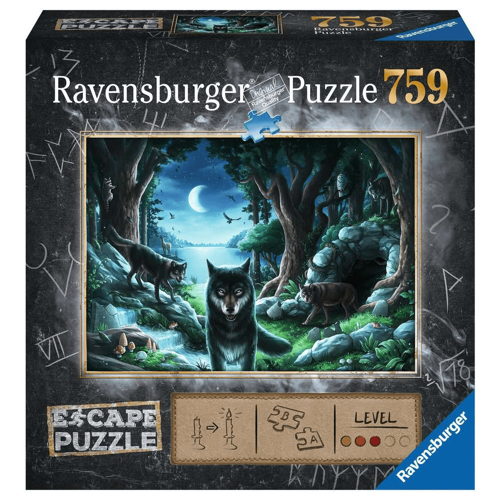 Escape Puzzle: Curse of the Wolves Ravensburger Puzzles/Playthings