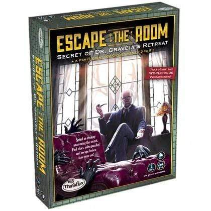 Escape The Room: Secret of Dr. Gravely's Retreat Thinkfun Board Games