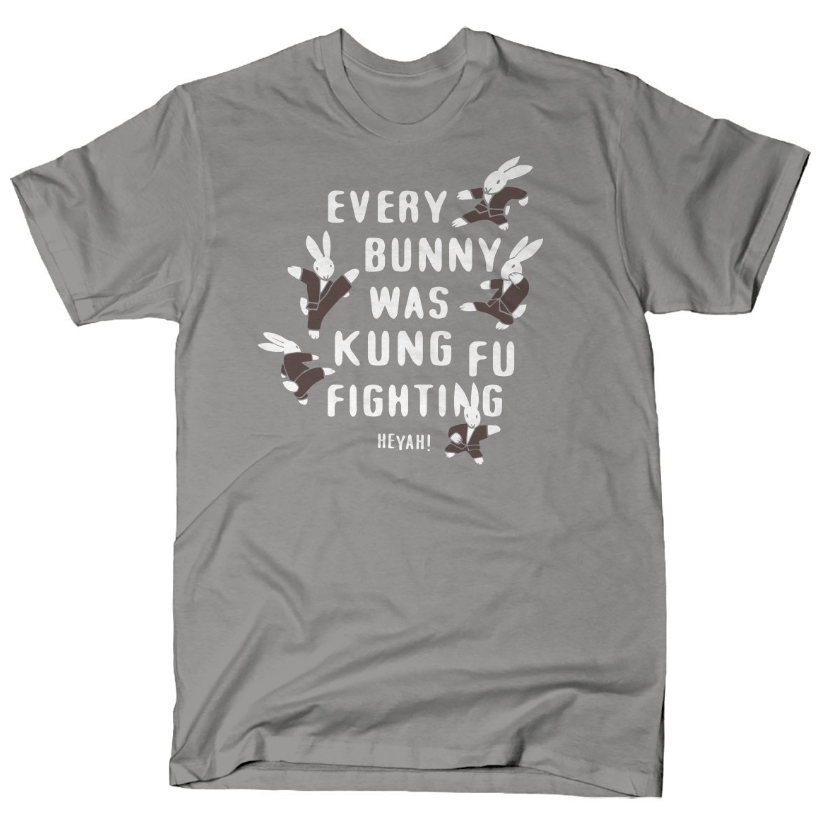 Every Bunny Was Kung Fu Fighting shirt Snorgtees Clothing/Accessories