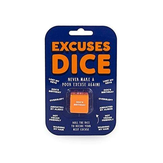 Excuses Dice Gift Republic Puzzles/Playthings