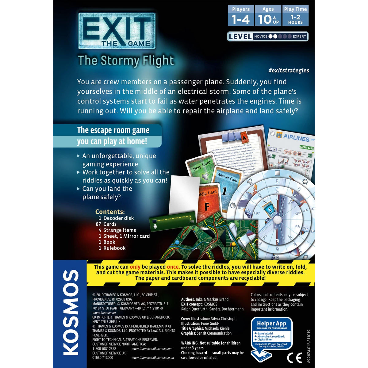 Exit: The Stormy Flight Thames & Kosmos Board Games