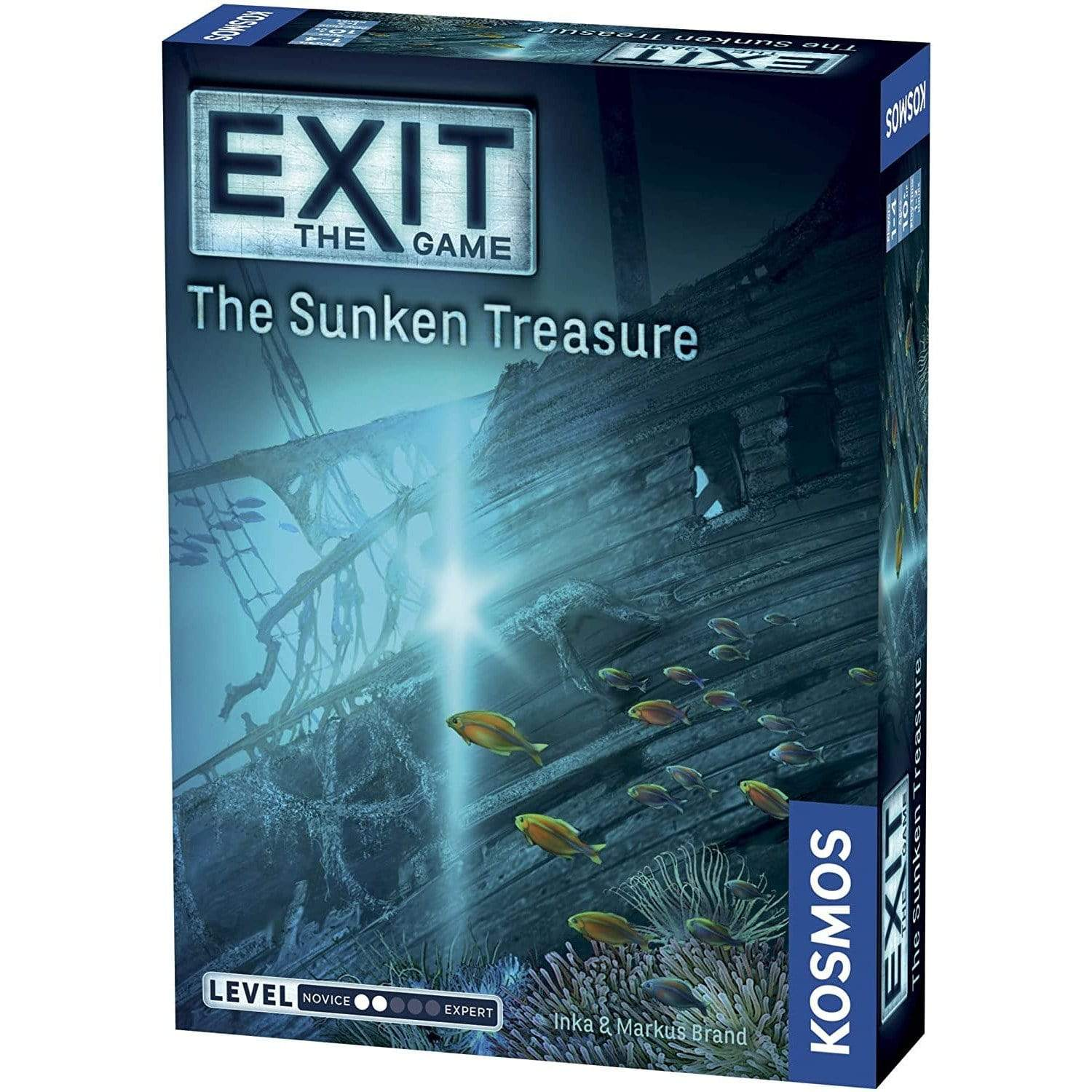 Exit:  The Sunken Treasure Thames & Kosmos Board Games