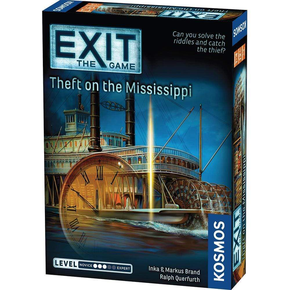 Exit: Theft on the Mississippi Thames & Kosmos Board Games