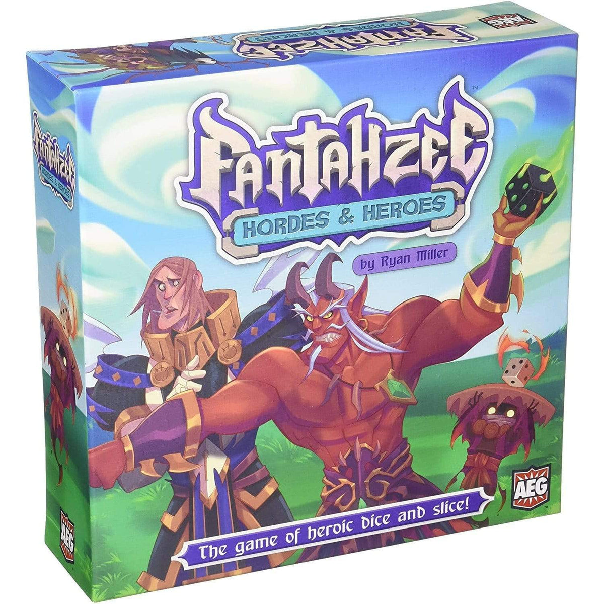 Fantahzee: Hordes And Heroes Alliance Games Board Games