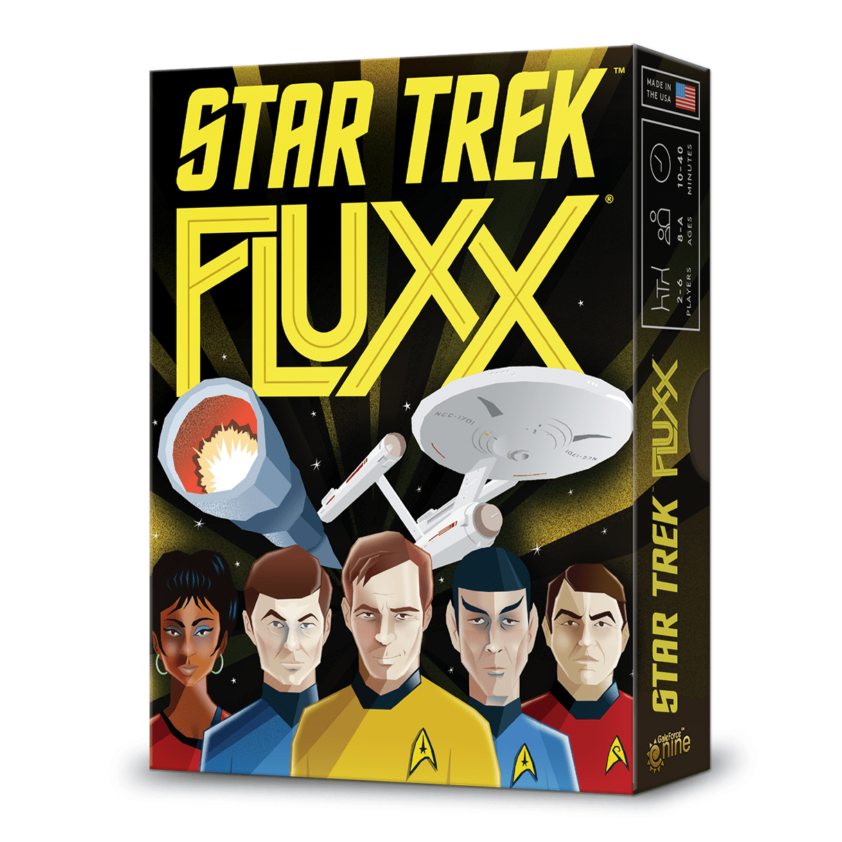 Fluxx: Star Trek Looney Labs Board Games