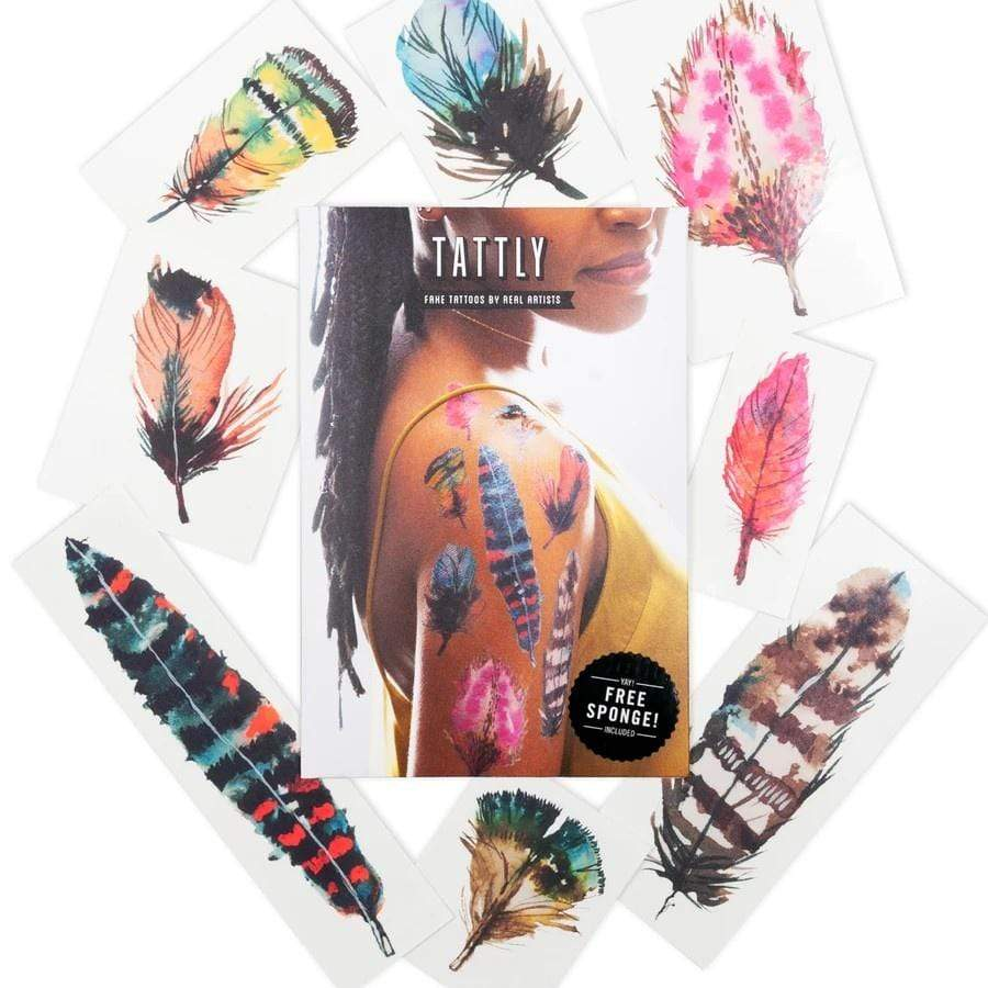 Flying Colors Tattoo Set Tattly Art Supplies