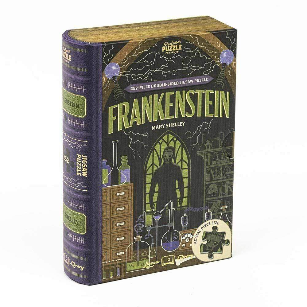 Frankenstein Double-Sided Jigsaw Puzzle Professor Puzzle Puzzles/Playthings