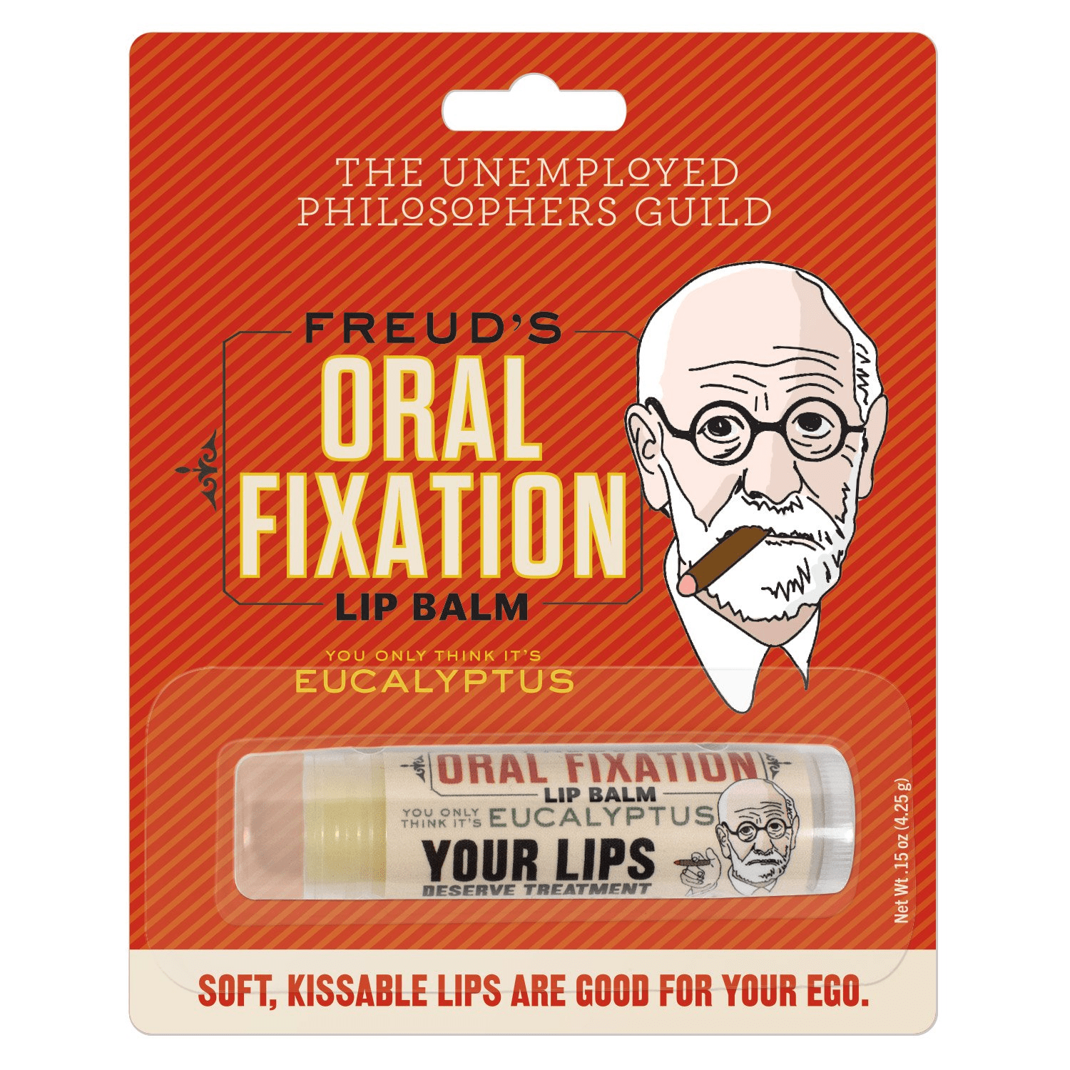 Freud's Oral Fixation Lip Balm Unemployed Philosophers Guild Clothing/Accessories