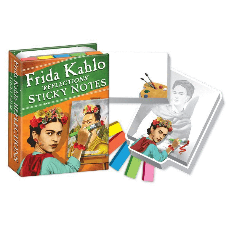 Frida Kahlo Reflections Sticky Notes Unemployed Philosophers Guild Paper Products