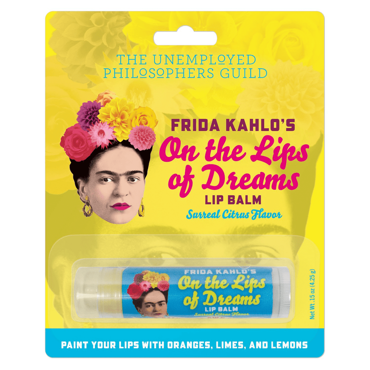 Frida's Lip Balm Unemployed Philosophers Guild Clothing/Accessories