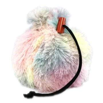 Fur Dice Bag: Ethereal Unicorn Red King Company Clothing/Accessories