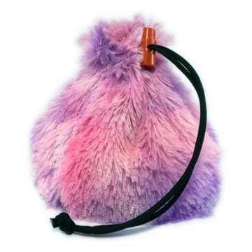 Fur Dice Bag: Twilight Unicorn Red King Company Clothing/Accessories