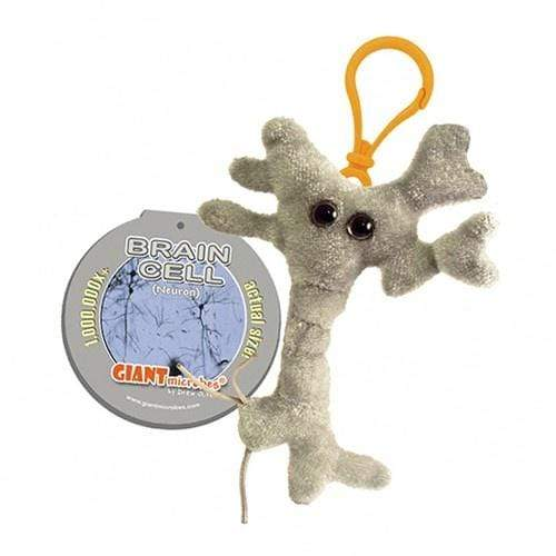 Giantmicrobes: Brain Cell Keychain Giantmicrobes Plush