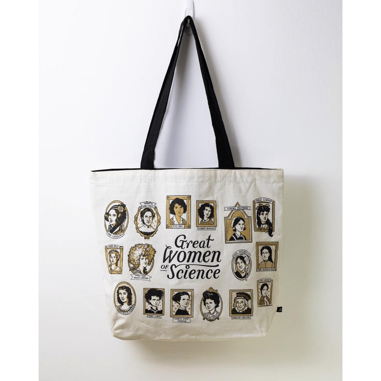 Great Women of Science Tote Bag Cognitive Surplus Clothing/Accessories
