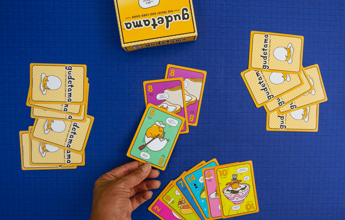 Gudetama: The Tricky Egg Card Game Renegade Games Board Games