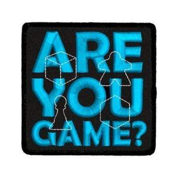 Iron-On Patch: Are You Game? Red King Company Clothing/Accessories
