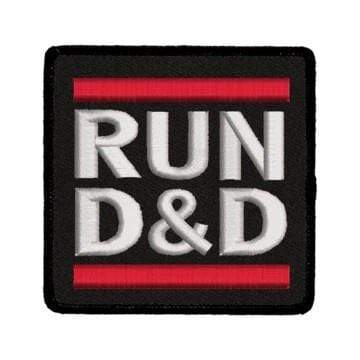 Iron-On Patch: Run D&D Red King Company Clothing/Accessories