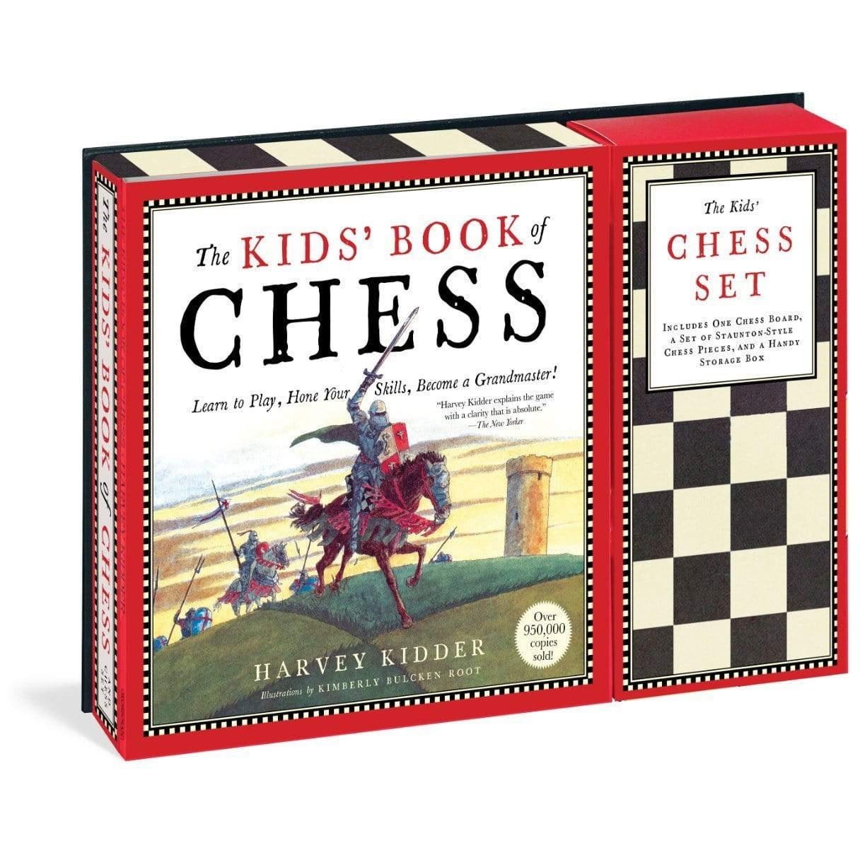 Kids' Book of Chess and Chess Set Workman Publishing Co. Board Games