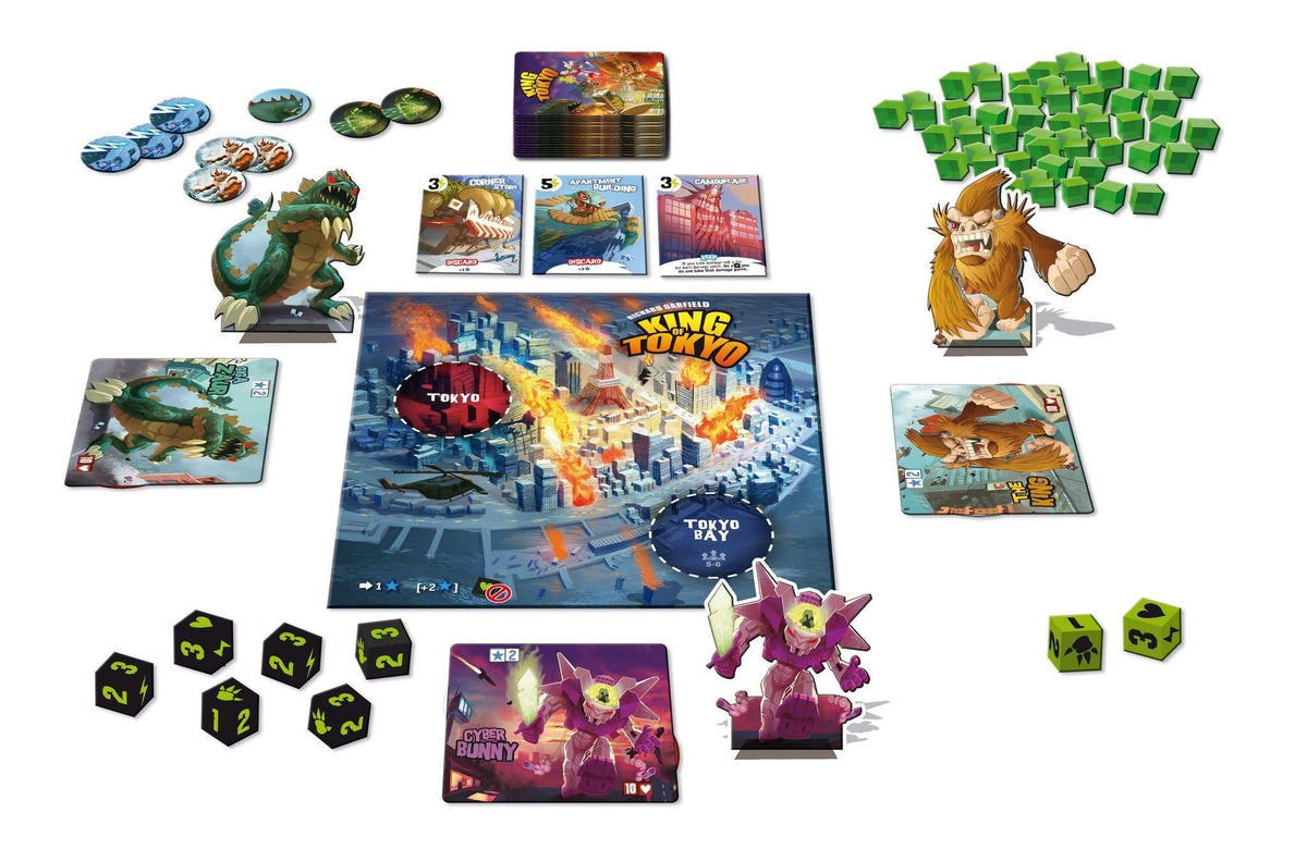 King of Tokyo Alliance Games Board Games