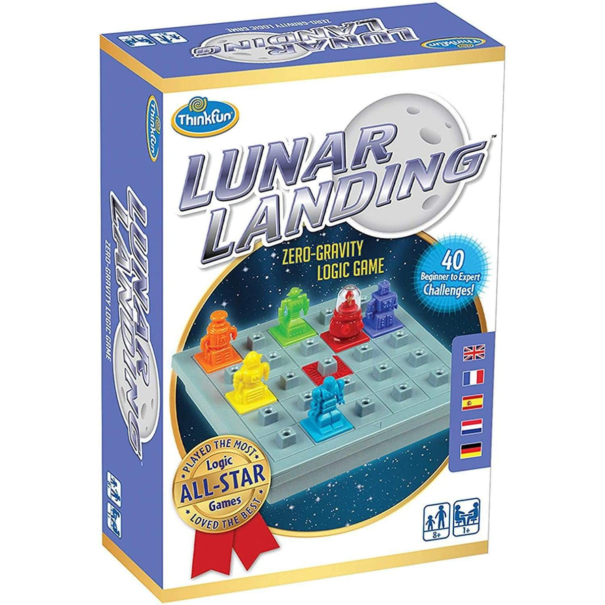 Lunar Landing Thinkfun Board Games