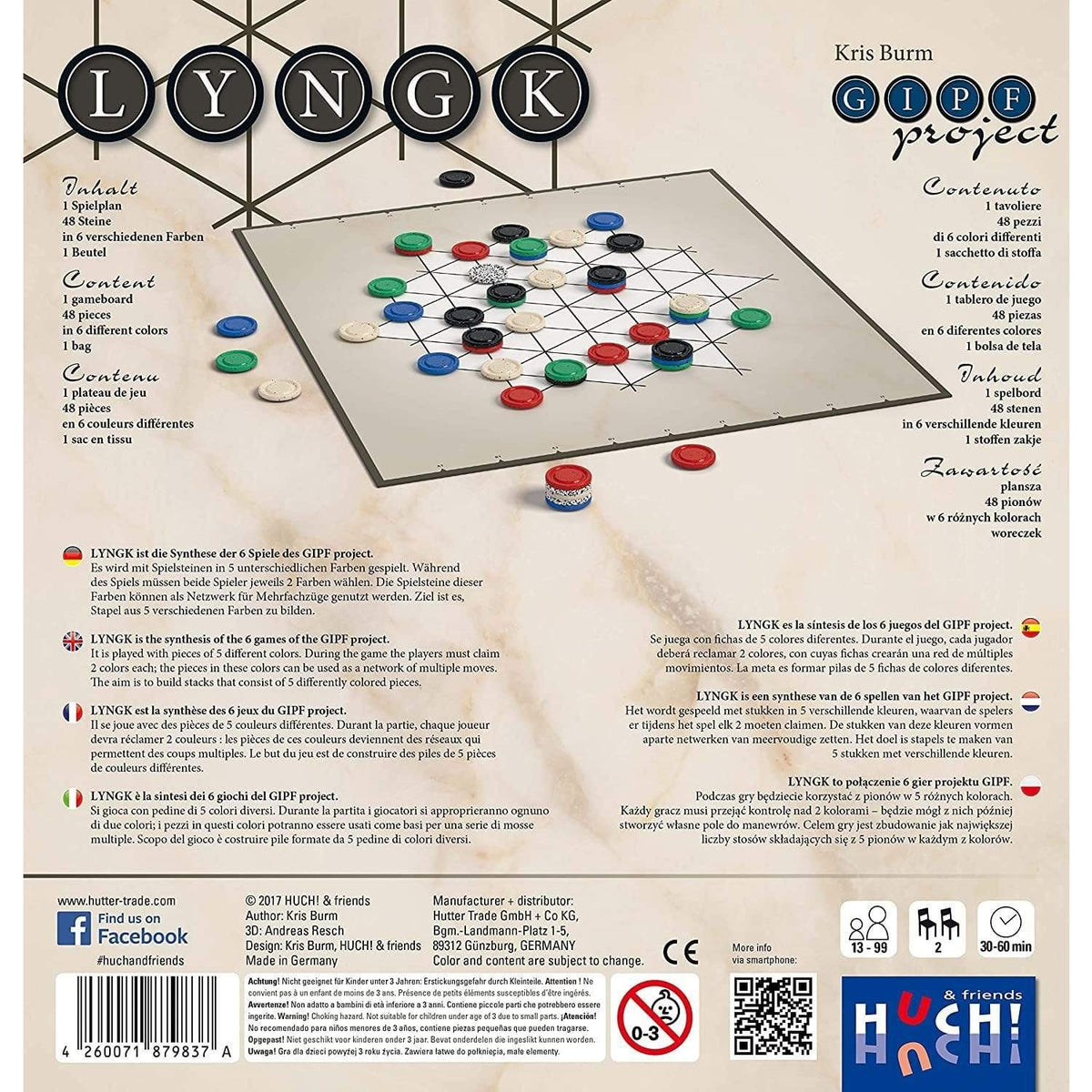 Lyngk ACD Distribution Board Games