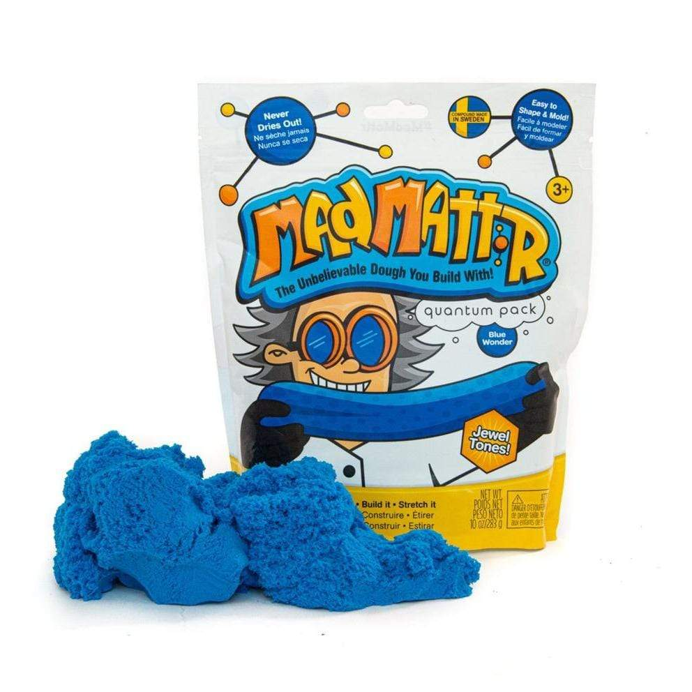 Mad Mattr 10 oz. Blue Wonder Relevant Play Puzzles/Playthings