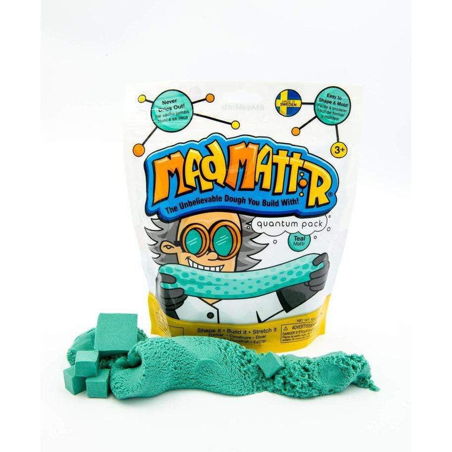 Mad Mattr 10 oz. Teal Relevant Play Puzzles/Playthings