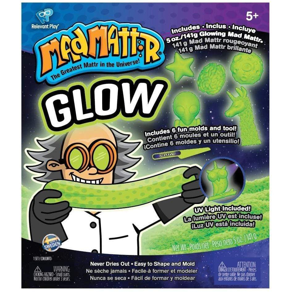 Mad Mattr Glow - 10 oz. Relevant Play Puzzles/Playthings