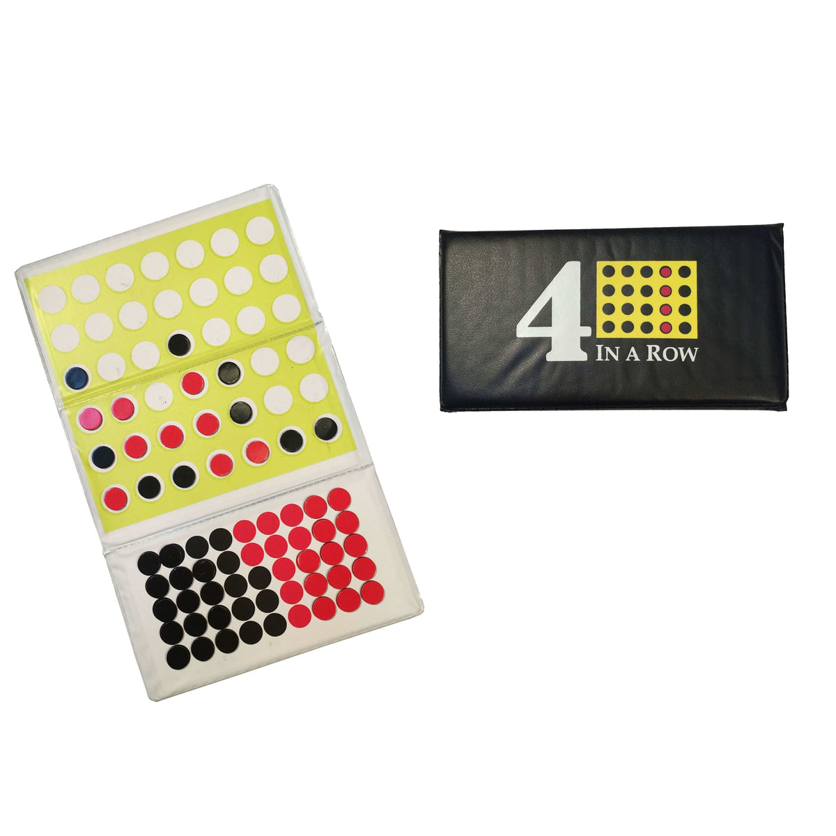 Magnetic Checkbook 4-in-a-Row Set Wood Expressions/We Games Board Games