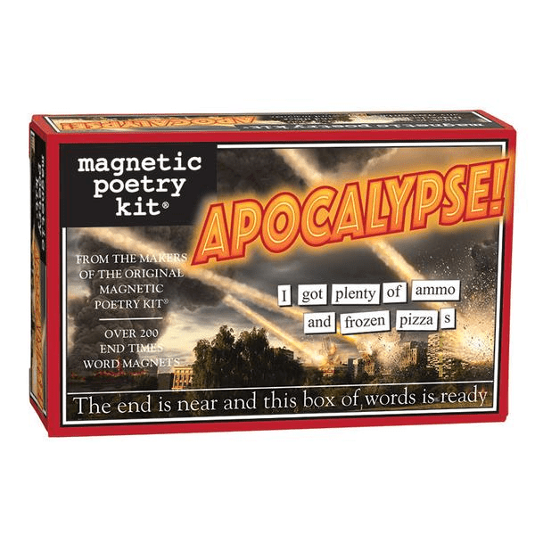 Magnetic Poetry: Apocalypse! Magnetic Poetry Puzzles/Playthings