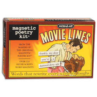 Magnetic Poetry: Mixed Up Movie Lines Magnetic Poetry Puzzles/Playthings