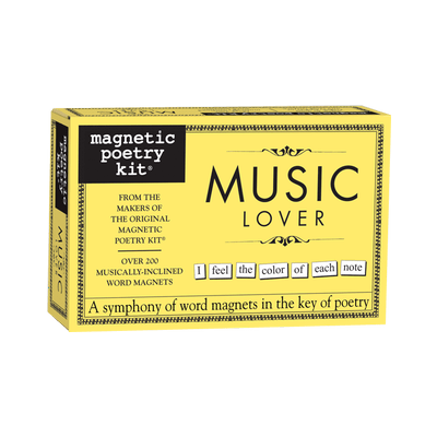 Magnetic Poetry: Music Lover Magnetic Poetry Puzzles/Playthings