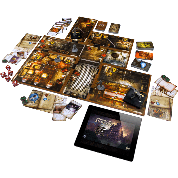 Mansions of Madness Fantasy Flight Games Board Games