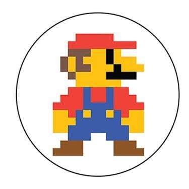 Mario magnet Ephemera Home Decor/Kitchenware