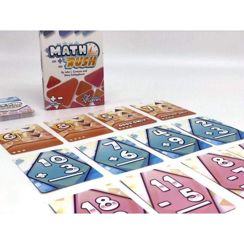 Math Rush - Add & Subtract Genius Games Board Games