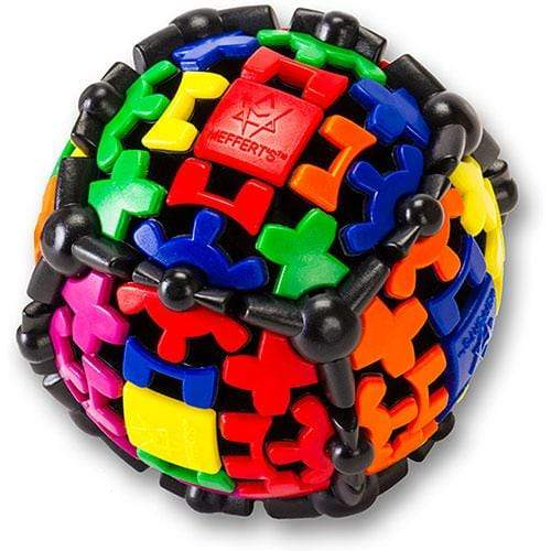 Meffert's Gear Ball Project Genius Puzzles/Playthings