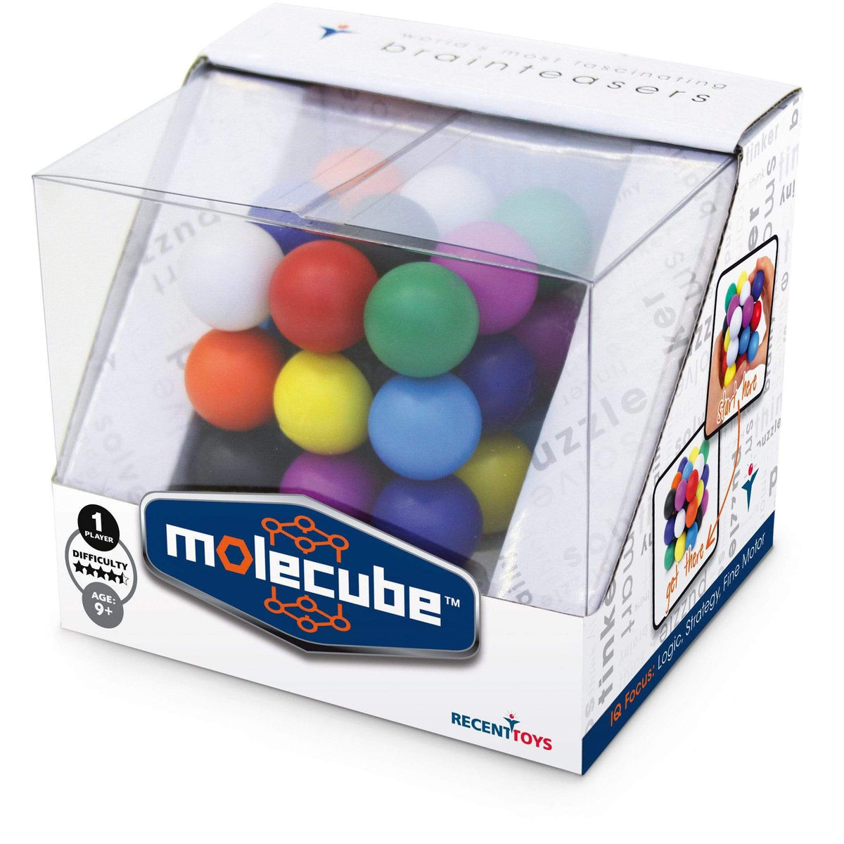 Meffert's Molecube Project Genius Puzzles/Playthings