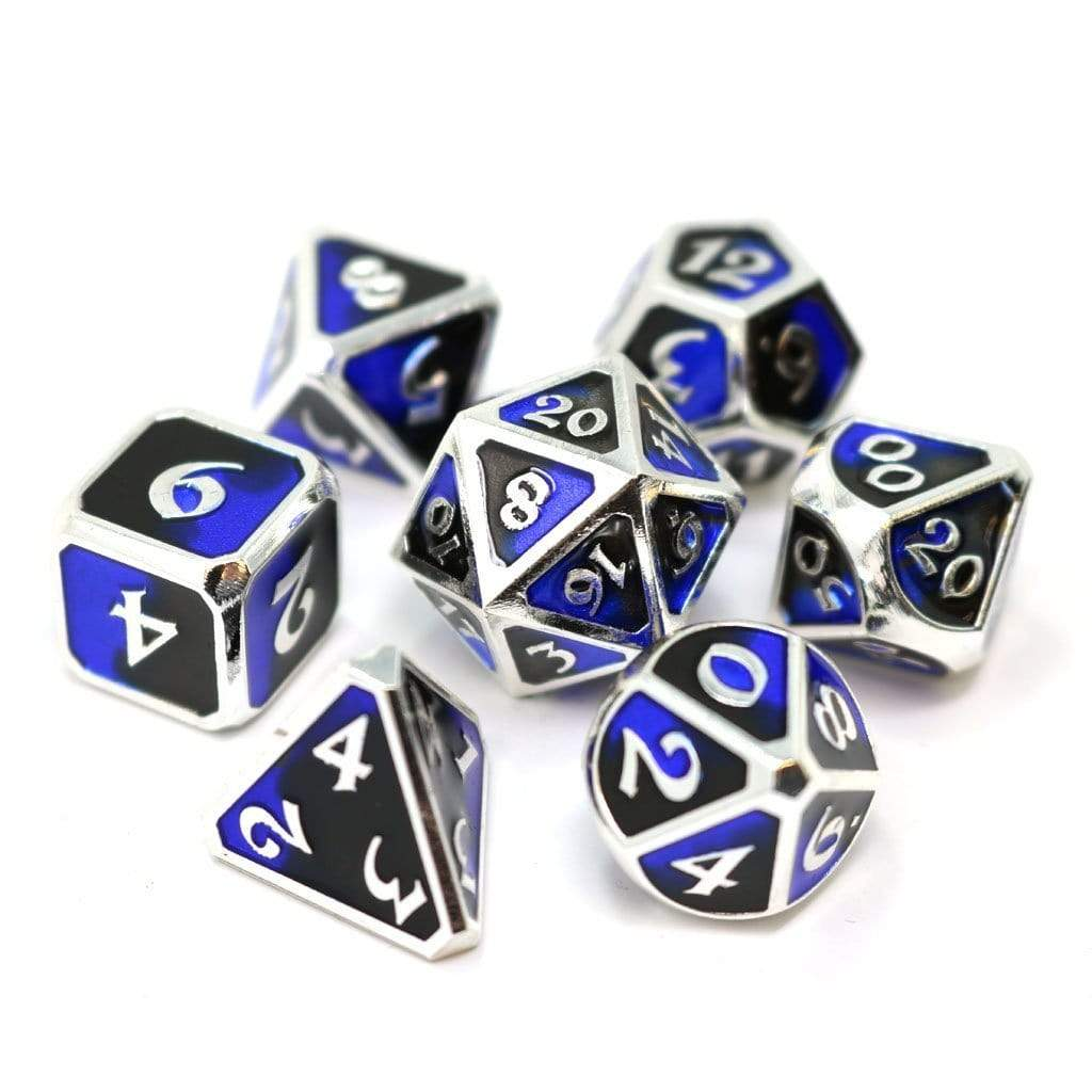 Metal Dice Set: Dark Arts Riptide Die Hard Dice Puzzles/Playthings