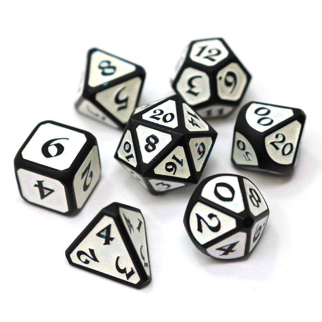 Metal Dice Set: Mythica Dreamscape Frostfell Die Hard Dice Puzzles/Playthings