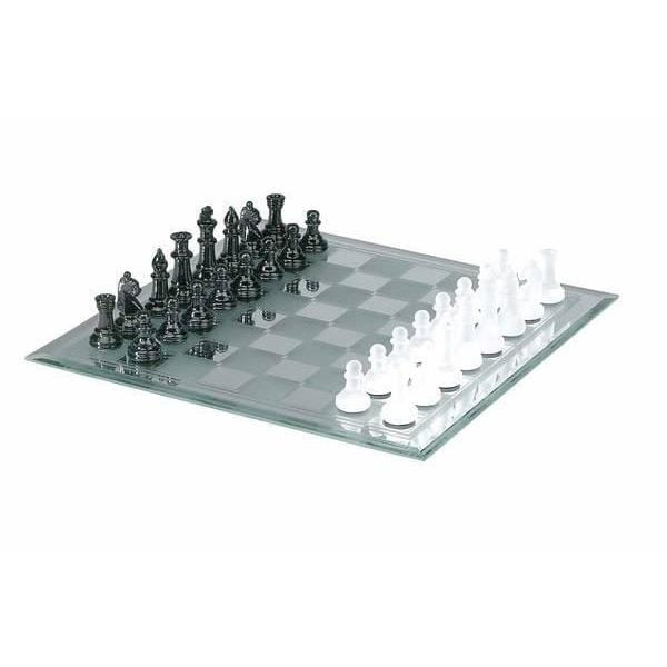 Mirror Board Glass Chess Set Chh Quality Products, Inc. Board Games