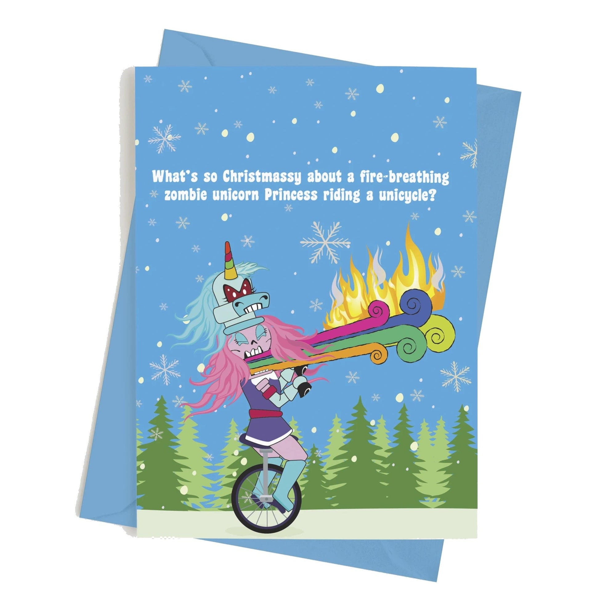 Monster Crackers Card - Hope Your Holiday Is Lit Monster Crackers Paper Products